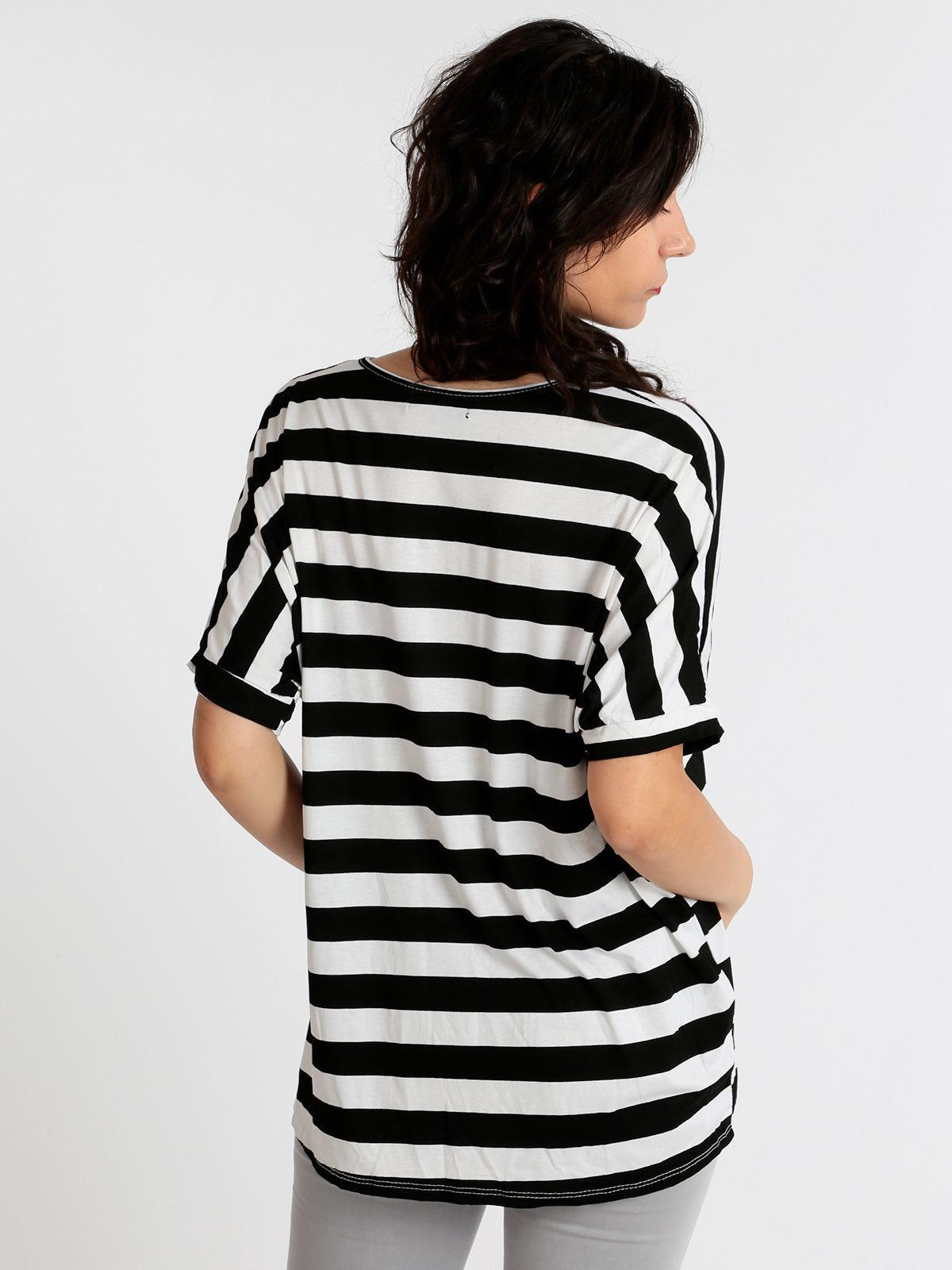 maglia//t-shirt costine scollatura barca ampia 5 colori taglia unica