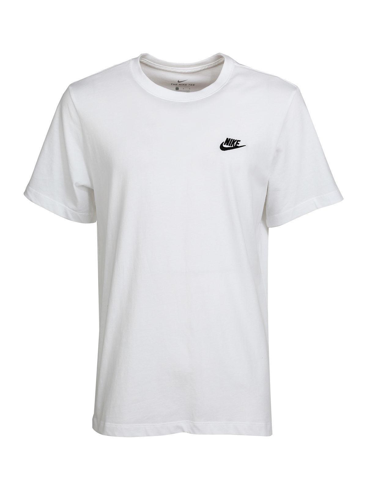 T shirt sportswear Club bianca nike | MecShopping