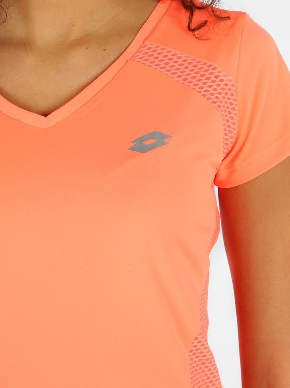 Lotto Sport Ursula V pl PRT W Camiseta de Fitness para Mujer