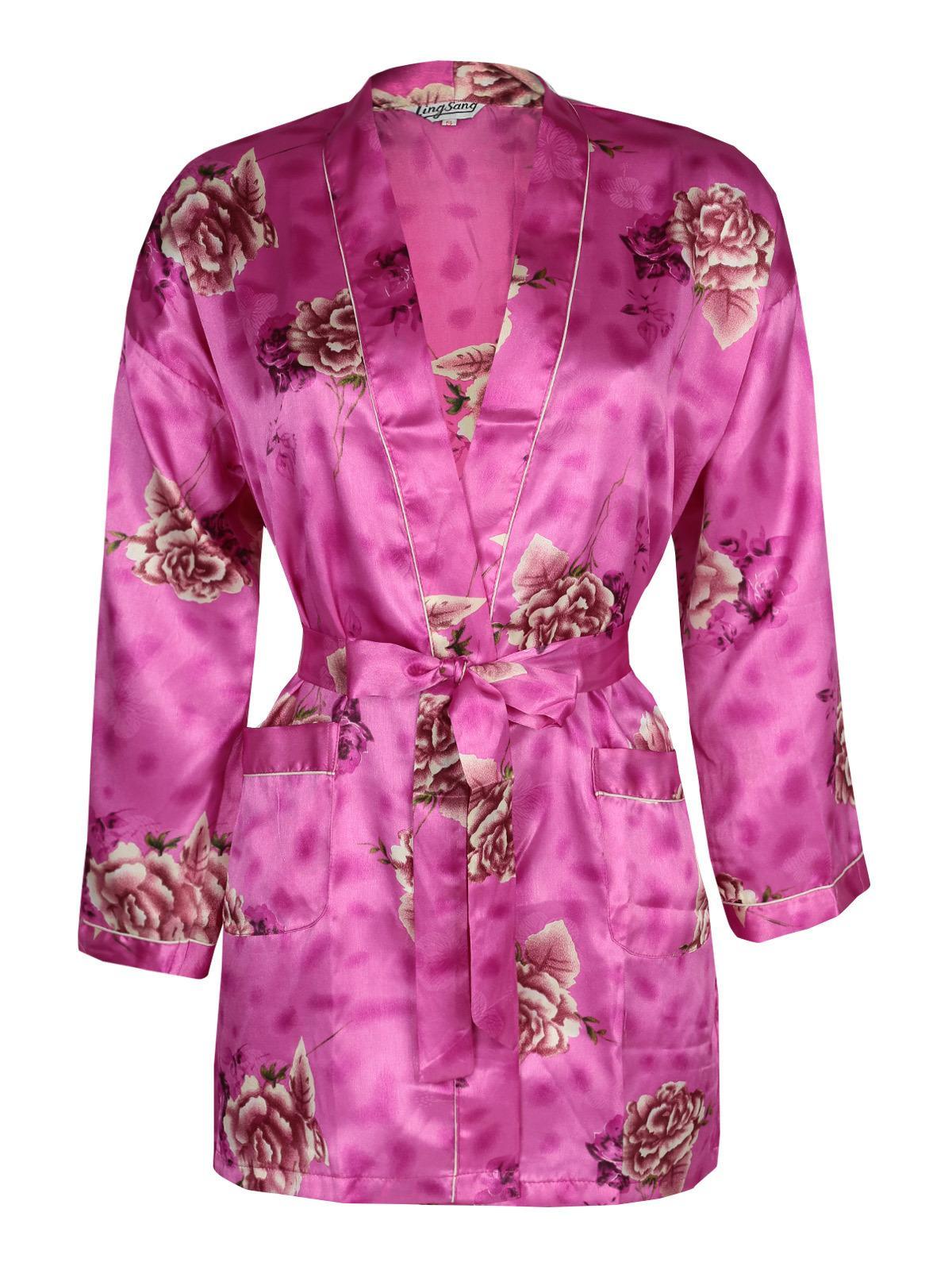 giacca vestaglia donna fiori