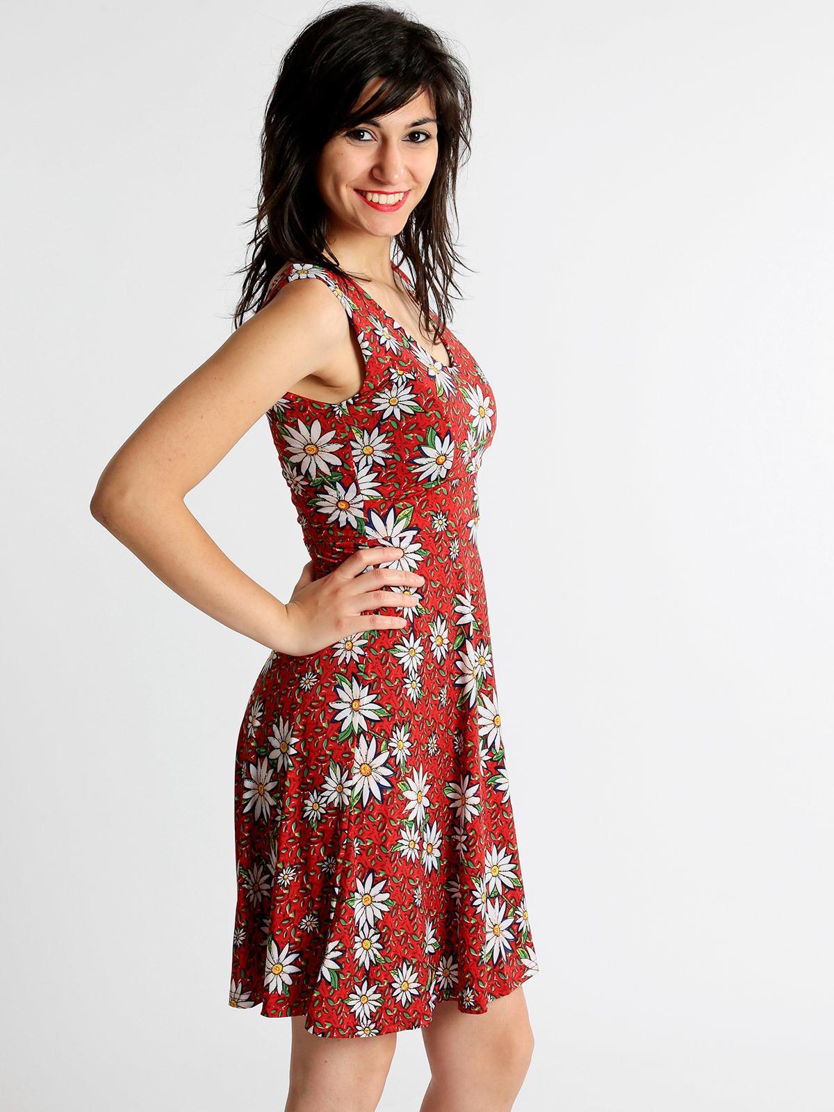size 40 c2fee 43127 Vestito corto con stampa fiori solada | MecShopping