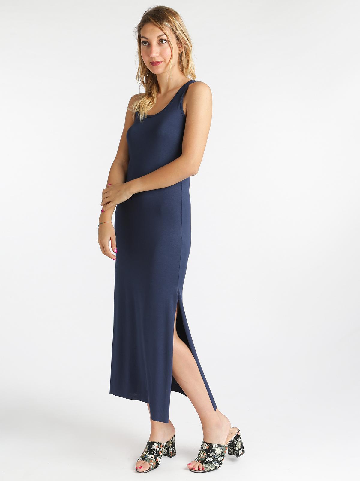 outlet store a8f24 06146 Vestito lungo con spacchi laterali solada | MecShopping