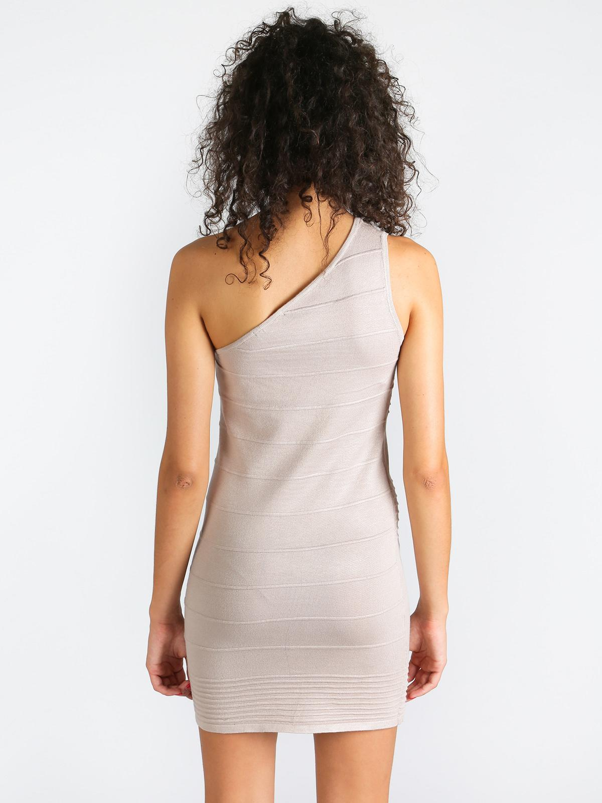 hot sale online f2db2 bee86 Vestito monospalla misto lana solada | MecShopping