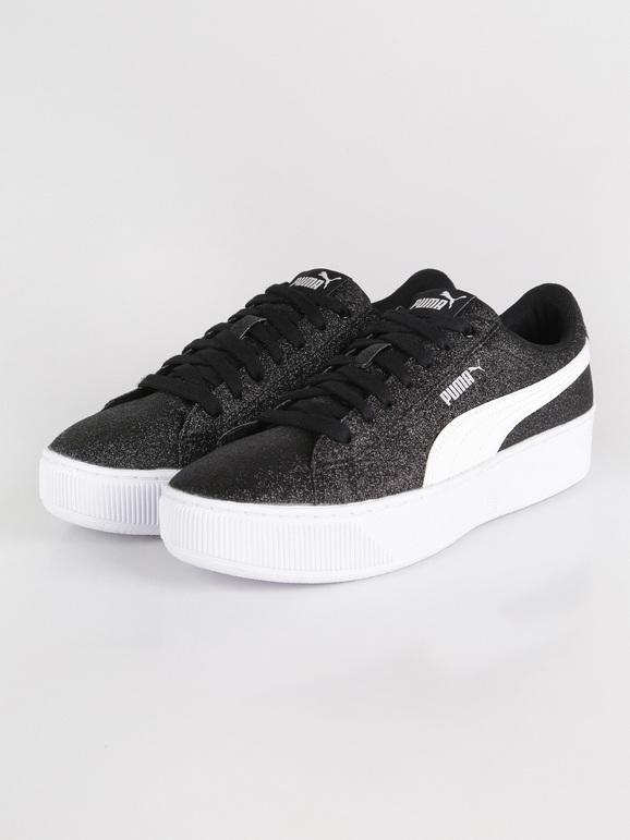 Vikky platform glitz Sneakers basse con glitter puma