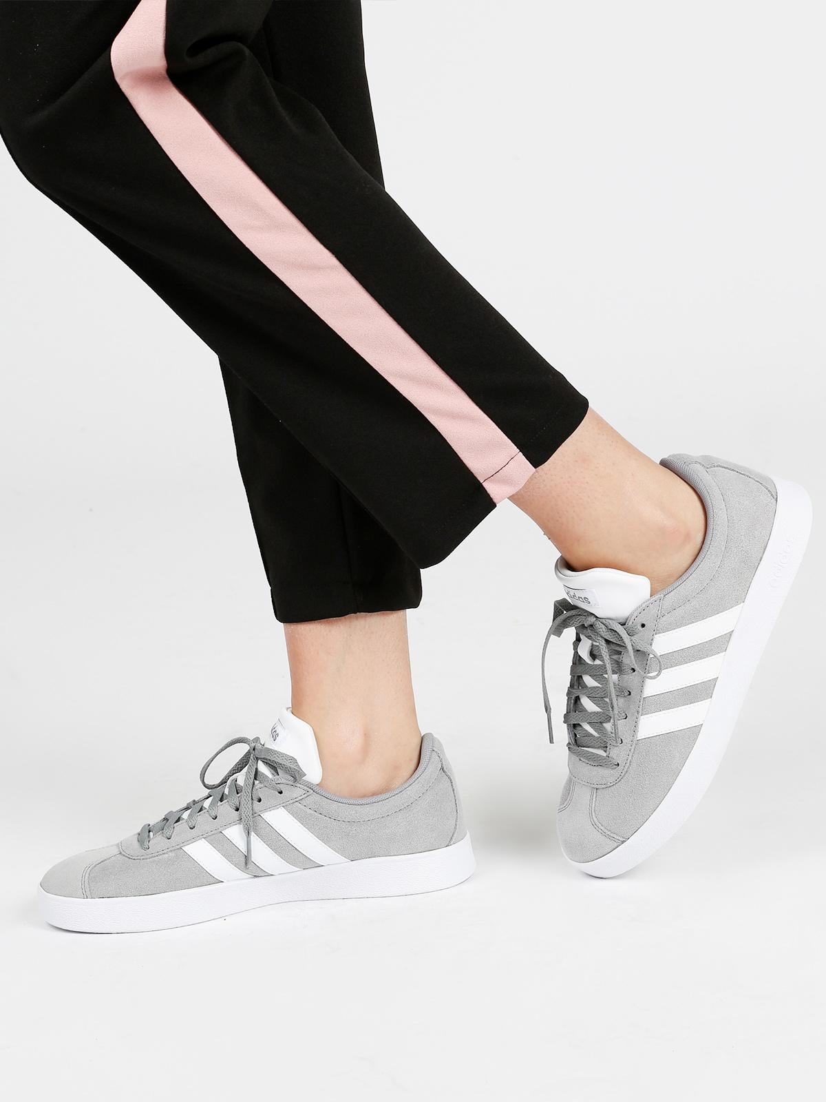 adidas vl court 2.0 homme gris
