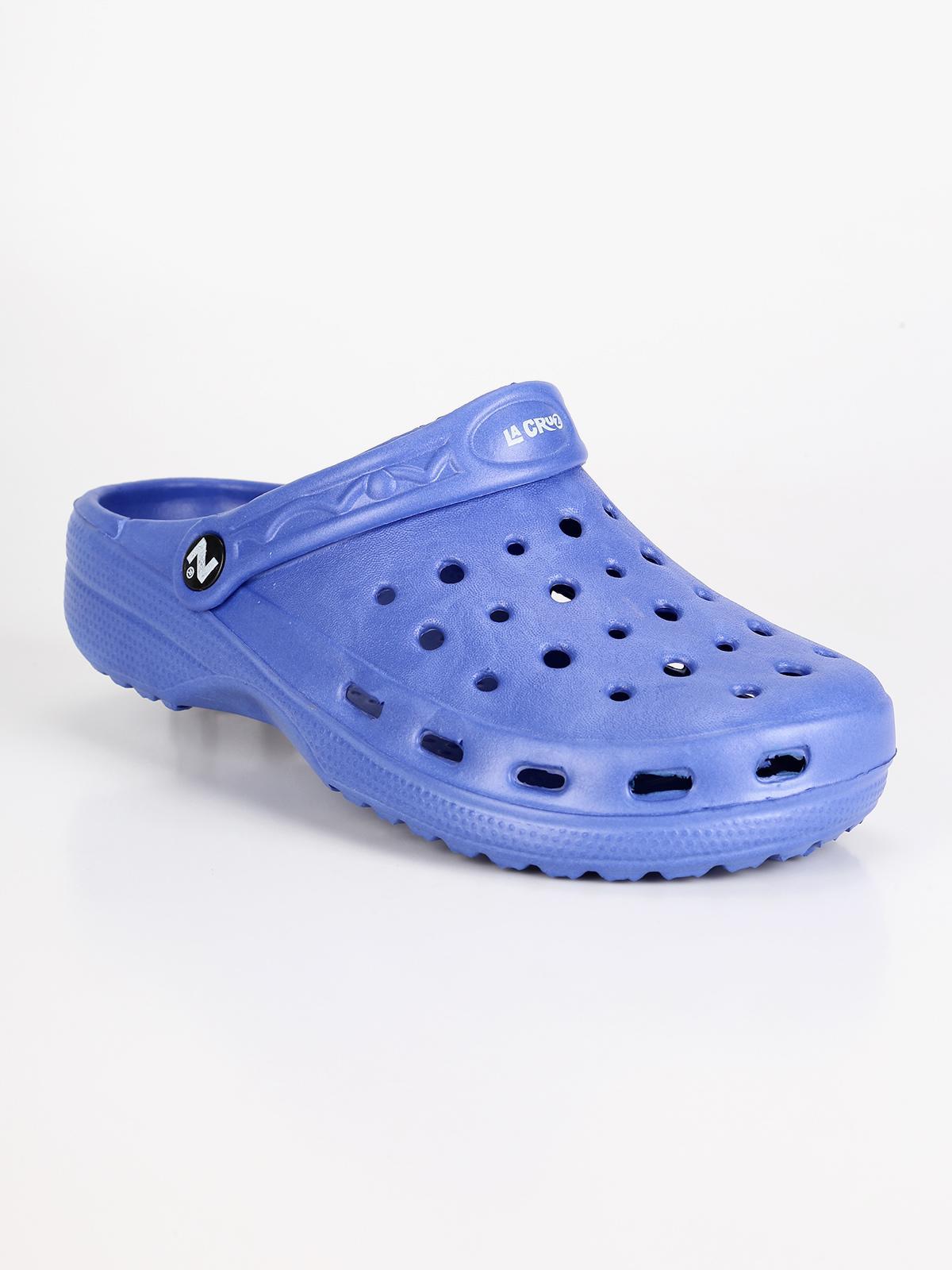 talla 40 2b148 520e0 Zuecos de caucho - azul mujer   MecShopping